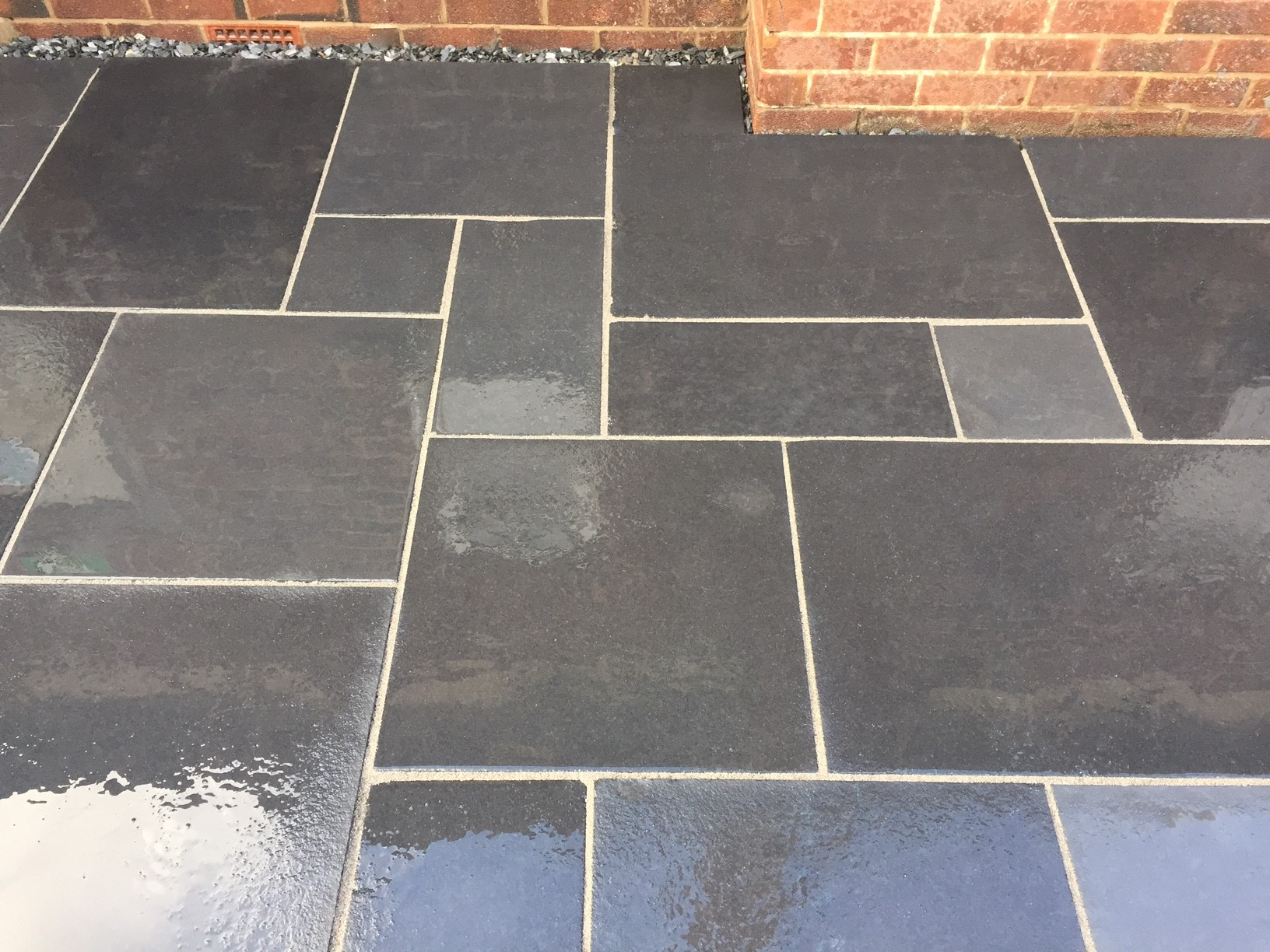 Kota Black Limestone 4 Size 20m2 Project Pack Paving
