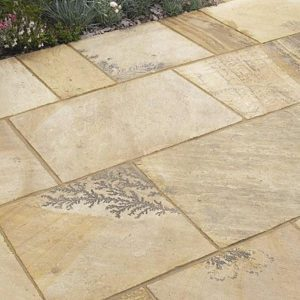 Fossil Buff Paving