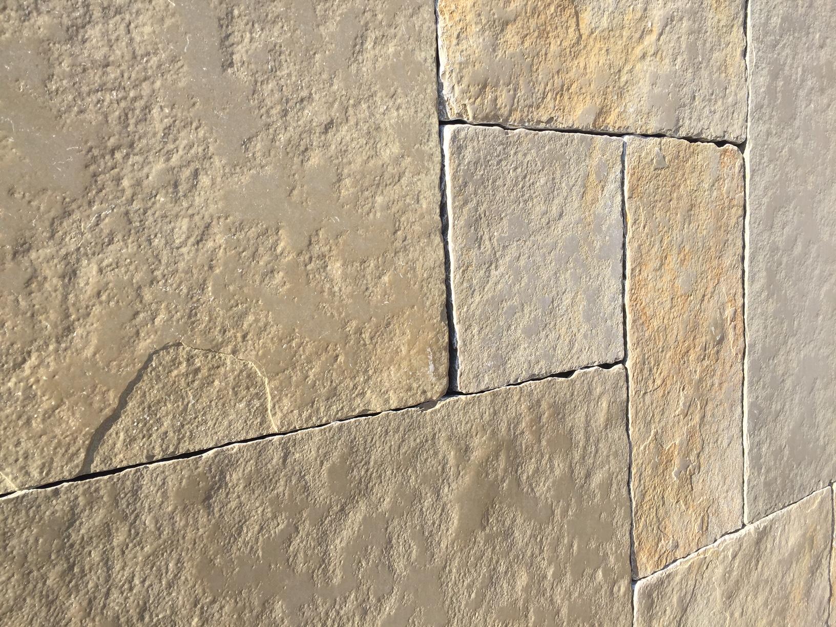 Yellow Limestone Tumbled Amp Brushed 4 Size 15 5m2