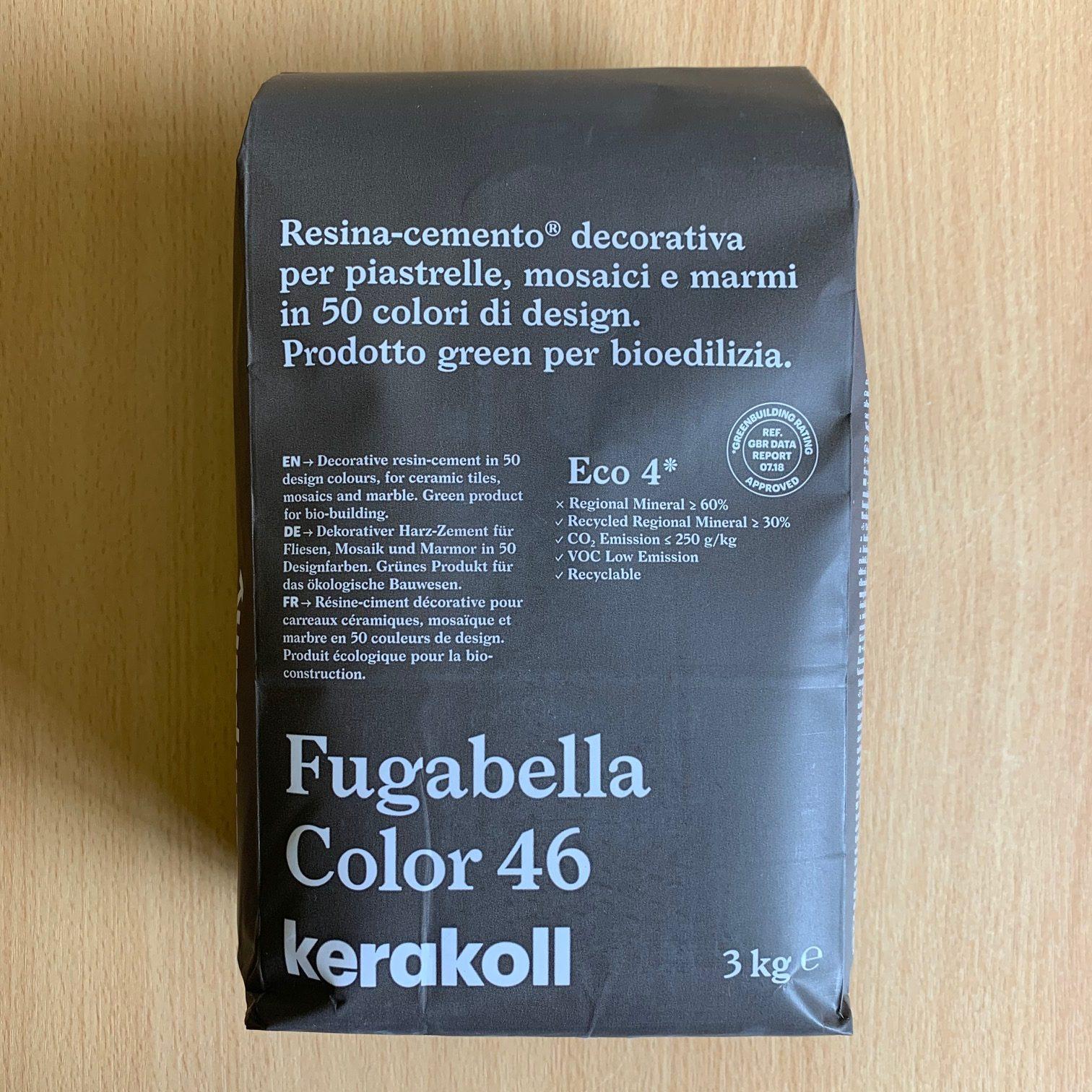 Fugabella Color 46 3kg Kerakoll